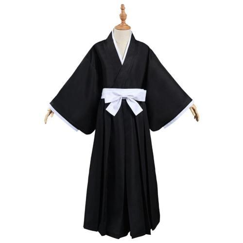 Bleach Kurosaki ichigo/Kuchiki Rukia/HitsugayaToushirou Kinder Kimono Cosplay Halloween Karneval Kostüm