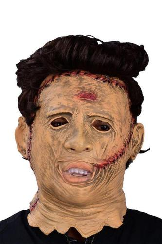 Texas Chainsaw Massacre Blutgericht in Texas Maske Cosplay Maske Kopfbedeckung Fasching Halloween Karneval