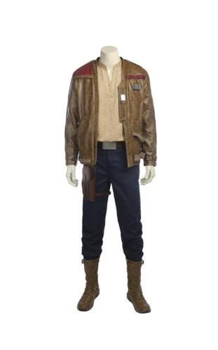 Star Wars 8 The Last Jedi Die letzten Jedi Finn Outfit Cosplay Kostüm