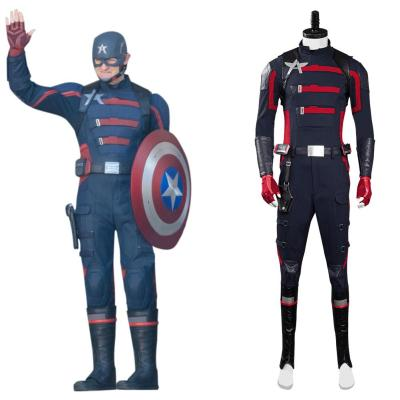 The Falcon and the Winter Soldier John Walker Super Patriot Kostüm Cosplay Halloween Karneval Kostüme