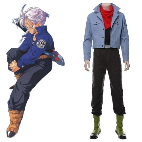 DBZ Torankusu Dragon Ball Z Zetto Trunks Cosplay Kostüm