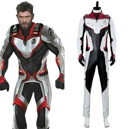 Avengers 4 Endgame Avengers: Infinity War - Part II Quantenreich Suit Quantum Realm Suit Cosplay Kostüm
