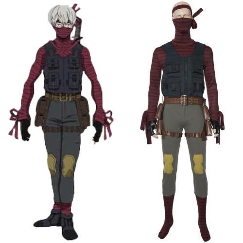 Bösewicht Ninja Cosplay Mama Kostüm My Hero Academia Boku no Hero Academia Film Heroes Rising
