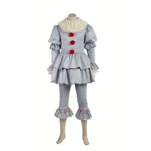 2017 IT Pennywise Kostüm The Clown Outfit Cosplay Kostüm Horror Film