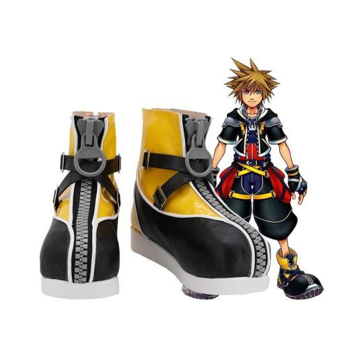 Kingdom Hearts III Kingdom Hearts 3 Pirat Sora Stiefel Cosplay Schuhe