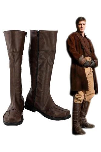 Firefly Malcolm Reynolds Cosplay Schuhe Stiefel