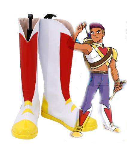She Ra and the Princesses of Power Bow Schuhe Cosplay Schuhe Stiefel