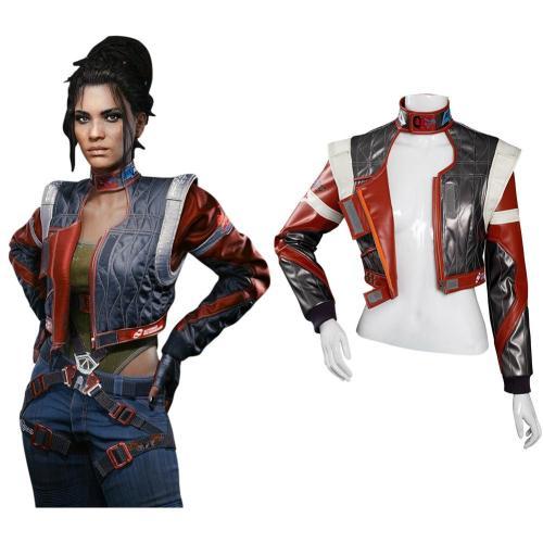 Cyberpunk 2077 Panam Palmer Cosplay Kostüm Jacke Halloween Karneval Kostüm