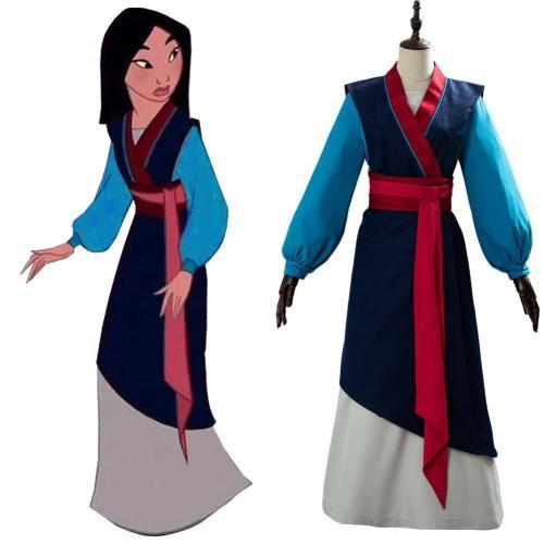 Cosplay Hanfu Hua Mulan Kleid Cosplay Kostüm
