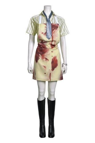 Blutgericht in Texas Leatherface Texas Chainsaw Massacre webliche Kostüm Cosplay Kostüm