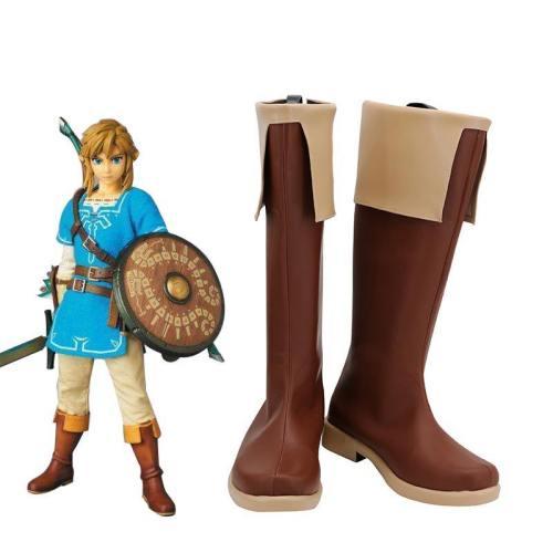 Link The Legend of Zelda Schuhe Die Legende von Zelda Link Cosplay Stiefel