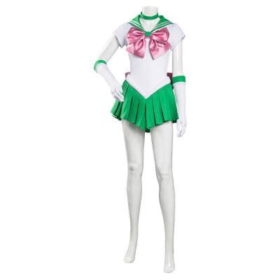 Makoto Kino Unifrom Sailor Jupiter Makoto Cosplay Halloween Karneval Kostüm