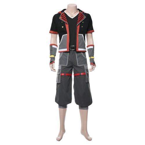 Sora Kingdom Hearts III 3  Cosplay Kostüm Uniform Outfit Suit