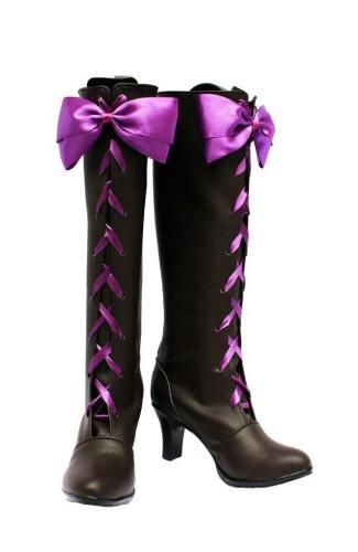 Black Butler 2 II Kuroshitsuji Alois Trancy Cosplay Schuhe Stiefel