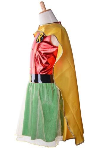Teen Titans Robin - Dick Grayson für Mädchen Kinder Cosplay Kostüm Halloween Karnival