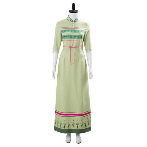 Die Eiskönigin 2 Frozen 2 Anna Nachthemd Kleid Cosplay Kleid Kostüm