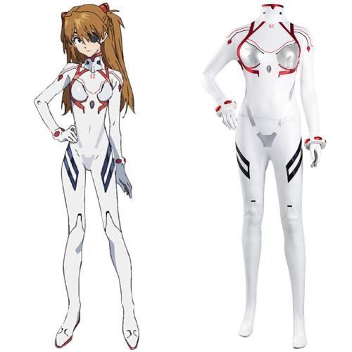 NEON GENESIS EVANGELION EVA Asuka Langley Soryu Jumpsuit Cosplay Halloween Karneval Kostüm