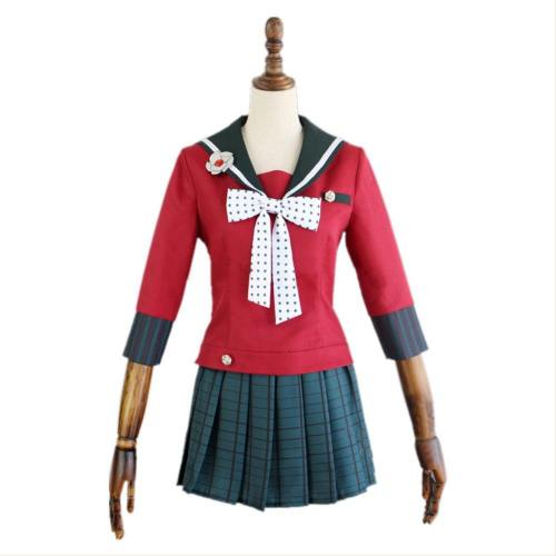 Danganronpa V3: Killing Harmony Harukawa Maki Cosplay Kostüm Uniform Kleid Halloween Karneval Kostüm