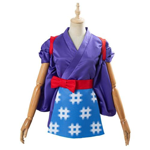 Animal Crossing Daisy Mae Cosplay Kostüm Kimono für Halloween Karneval Kostüm