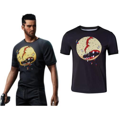 Cyberpunk 2077 V Cosplay T-Shirt Oberteil Kurzarm T shirts