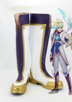 League of Legends LoL DER VERWEGENE FORSCHER Ezreal Star Guardian Cosplay Schuhe Stiefel