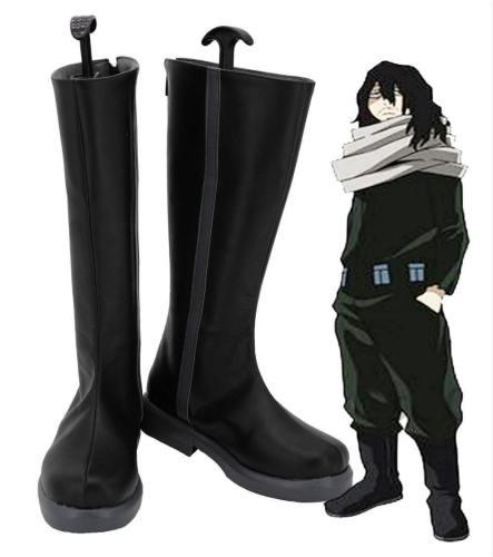 Boku no Hero Academia My Hero Academia Eraserhead Shota Aizawa Stiefel Cosplay Schuhe