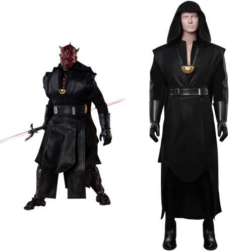 Star Wars Darth Maul Cosplay Kostüme Halloween Karneval Outfits