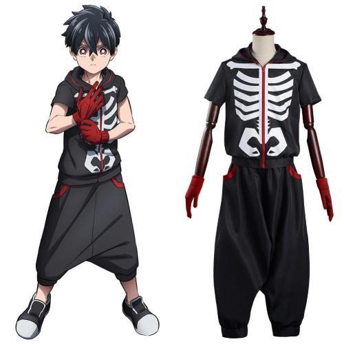 Kemono Jihen – Gefährlichen Phänomenen auf der Spur Uniform Cosplay Kostüm