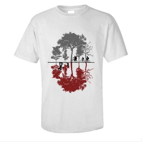 Stranger Things 3 Steve Robin Elf Eleven 11 Top Tee T-Shirt Kurzarm Rundhals Unisex Sommer