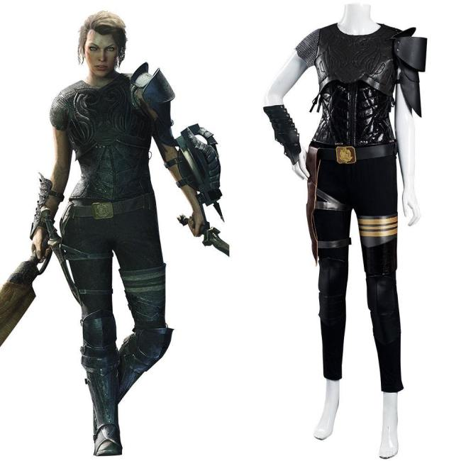 Monster Hunter Artemis Cosplay Kostüm Halloween Karneval Outfits