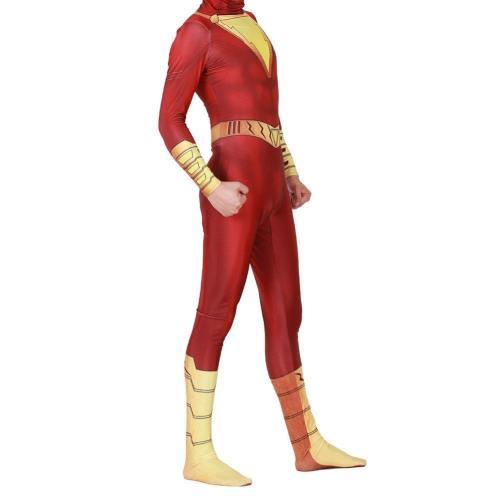 DC-Shazam- Billy Batson Cosplay Kostüm Jumpsuit