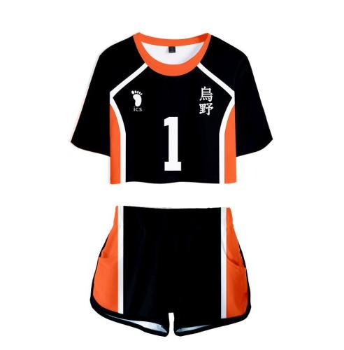 Haikyuu!! Volleyball!! Karasuno High Nummer 1/2/3/4/5/9/10/11/12 Uniform Cosplay Kostüm
