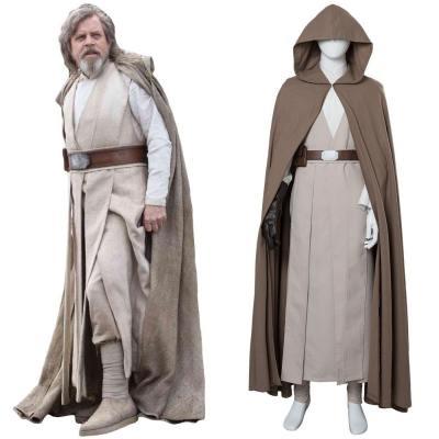 Star Wars 8 Die Letzten Jedi Luke Skywalker Cosplay Kostüm