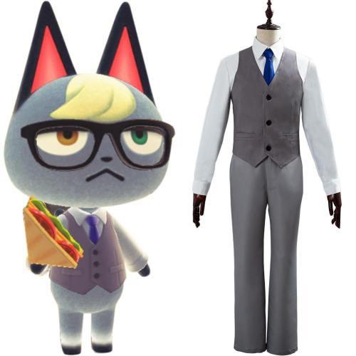 Animal Crossing Raymond Cosplay Kostüm Uniform