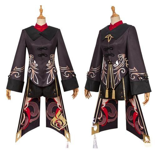 Genshin Impact HUTAO Cosplay Kostüme Halloween Karneval Outfits