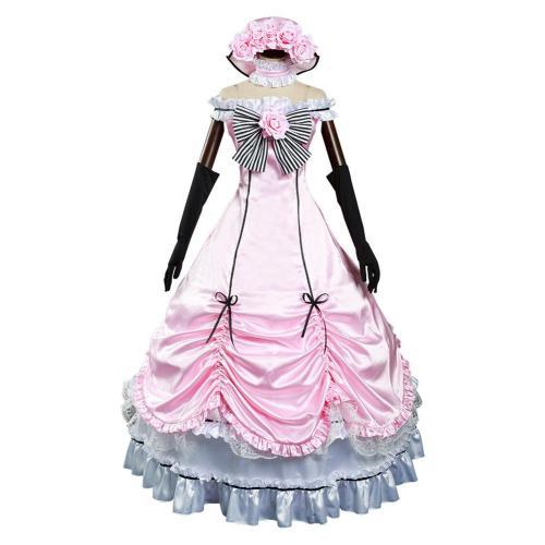 Black Butler Ciel Phantomhive Kleid Cosplay Outfits Halloween Karneval Kostüm