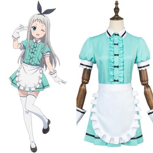 Blend·S Hideri Kanzaki Dienstmädchen Kleid Cosplay Kostüm