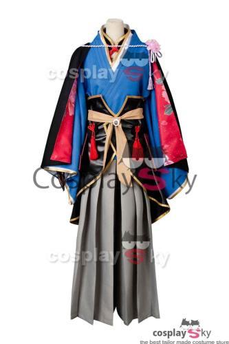 Touken Ranbu Kasen Kanesada Kimono Cosplay Kostüm