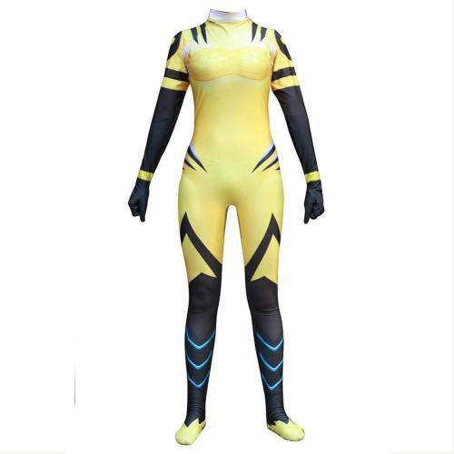 Overwatch D.va Cosplay Kostüm Jumpsuit B.Va Skin