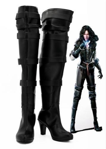 The Witcher 3 Wild Hunt Yennefer Cosplay Schuhe Stiefel