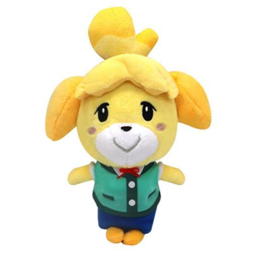 Tom Nook Puppe Raccoon Plüsche Animal Crossing Puppe Isabelle/K.K Slider Kissen Plüsche Puppe 18cm