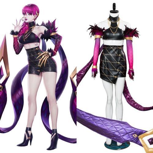 League of Legends Agony's Embrace Evelynn K/DA Skin Haut Cosplay Kostüm