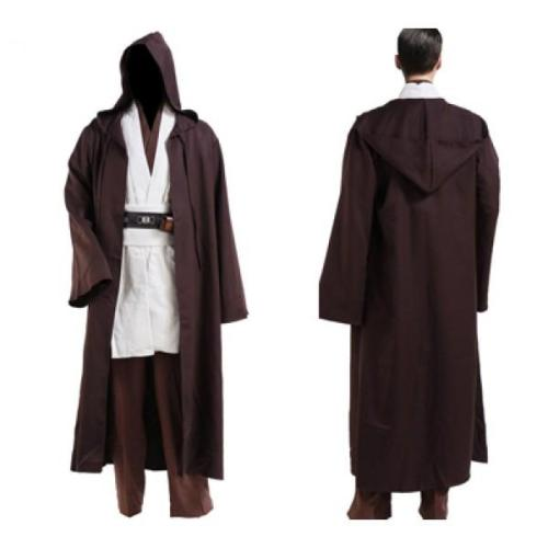 Star Wars Kenobi Jedi TUNIC Cosplay Kostüm Tunika Set