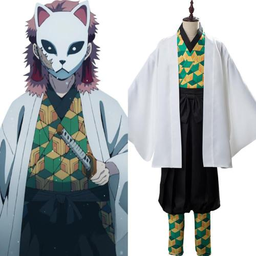 Sabito Kimetsu no Yaiba Demon Slayer Kostüm Cosplay Kostüm Set