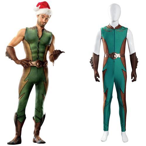 The Boys Ocean Master Cosplay Kostüm Jumpsuit Outfits Halloween Karneval Suit