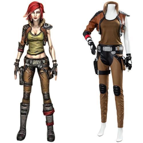 Borderlands 3 Lilith Cosplay Kostüm Set