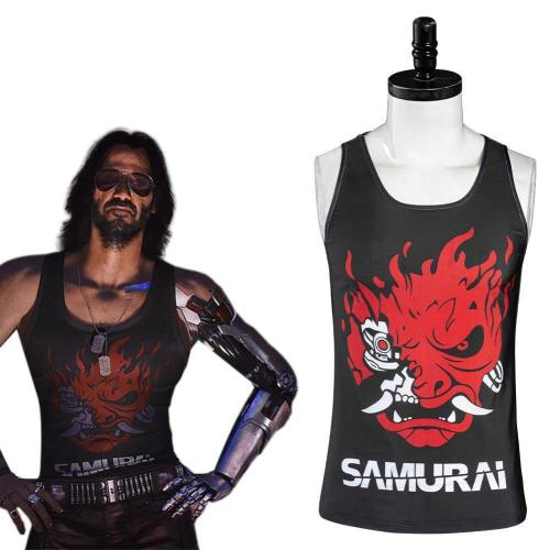 Cyberpunk 2077 Johnny Silverhand Weste Cosplay Kostüm