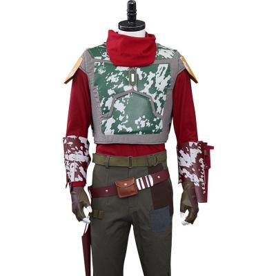 Star Wars The Mandalorian 2 Cobb Vanth Cosplay Kostüme Halloween Karneval Outfits
