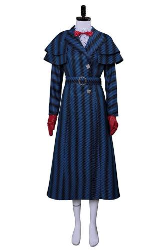 Mary Poppins' Rückkehr Mary Poppins Returns (2018) Mary Poppins Cosplay Kostüm