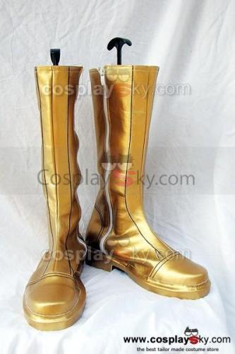 Fire Emblem Sothe Cosplay Stiefel Schuhe Gelb
